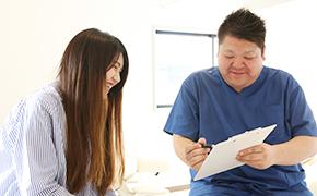 産前産後の骨盤矯正治療イメージ